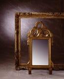 Frame en spiegel Royalty-vrije Stock Afbeelding