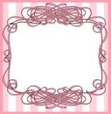 Frame envolvido fita Imagens de Stock Royalty Free