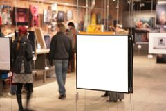 Frame on exhibition  Stock Images