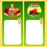 Frame farm tractor Royalty Free Stock Photo