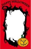 Frame feliz de Halloween Fotografia de Stock Royalty Free