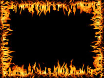 Frame of Fire Royalty Free Stock Photos