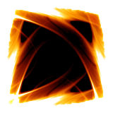 Frame of fire Stock Photos