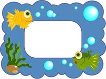 Frame Fishy Imagem de Stock