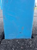 Frame in flexible tile for playground. Flexible floor Stock Photography