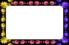 Frame floral Fotos de Stock Royalty Free