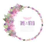 Frame floral Foto de Stock Royalty Free