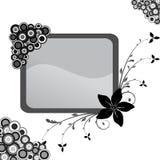 Frame floral Fotografia de Stock Royalty Free