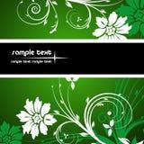 Frame floral Imagens de Stock