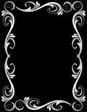 Frame floral abstrato Imagens de Stock Royalty Free