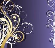 Frame floral abstrato Fotografia de Stock