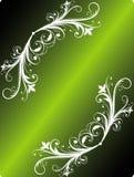Frame floral abstrato Imagem de Stock Royalty Free