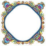 Frame floral abstrato (série) Imagens de Stock