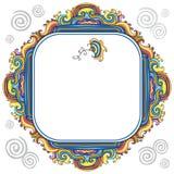 Frame floral abstrato (séries) Fotos de Stock Royalty Free