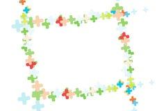 Frame floral da foto - vetor imagens de stock