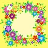 Frame floral do vetor Foto de Stock Royalty Free