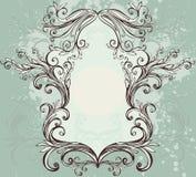 Frame floral do vintage Imagens de Stock