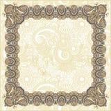 Frame floral do vintage Foto de Stock Royalty Free