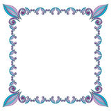 Frame from floral elements. Vector frame from floral elements Stock Images