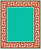 Frame floral para seu projeto Ornamento turco tradicional do otomano do ½ do ¿ do ï Iznik ilustração stock