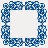 Frame floral popular ilustração do vetor