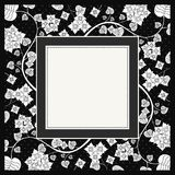 Frame of flower, vector Royalty Free Stock Photography