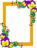 frame of flower Royalty Free Stock Photos