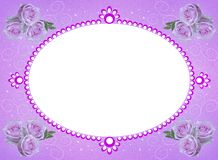 Frame of flowers. additional file png. stock image