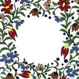Frame flowers  Stock Image