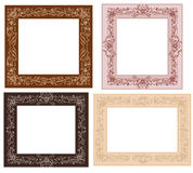 Frame with foliate Royalty Free Stock Images