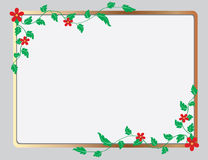 The frame in the form of floral ornament Royalty Free Stock Photos