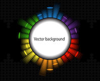 Round equalizer Royalty Free Stock Photos