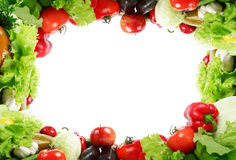 Frame fruits Stock Photography
