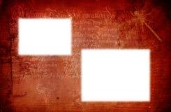 Frame gótico do fundo Fotografia de Stock