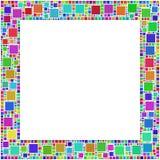 Frame gekleurde Harlequim Stock Afbeelding
