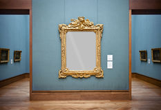 Frame at the Getty Center, Los Angeles Stock Photo