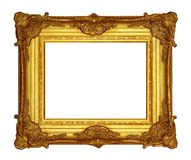Frame Gold Royalty Free Stock Photography