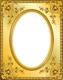 Frame Gold - 3 Royalty Free Stock Photo
