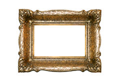 Frame gold Stock Photography