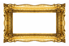 Frame in Gold Stock Images