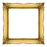 frame gold Στοκ Εικόνες