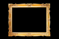 Frame gold Royalty Free Stock Images
