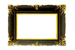 Frame with gold Royalty Free Stock Images