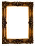 Frame  gold retro Royalty Free Stock Photos