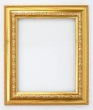 Frame gold Stock Photo