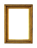 Frame golden Stock Photography
