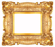 frame golden Στοκ Εικόνες