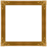 frame golden στοκ φωτογραφία με δικαίωμα ελεύθερης χρήσης