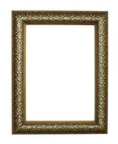 Frame golden grunge antique Stock Photos
