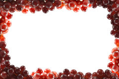 Frame from grapes Royalty Free Stock Image